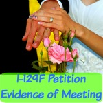 Evidence of meeting your fiance(e) for the K1 visa Petition I-129f