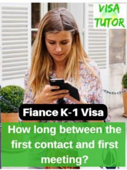 how much time has passed since you first met online then decided to meet in person before filing your I-129F petition for fiance k-1 visa? It will trigger Red Flags if you had a quick relationship.