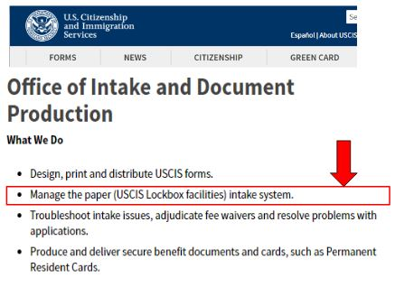 The USCIS Lockbox facilities office of intake helps the USCIS sort out petitions for efficiency. The I-129F fiance petition is handled similarly