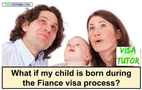Children born during the Fiance K-1 visa process