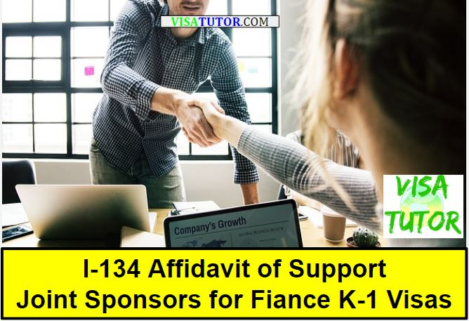 I-134 Joint Sponsors For Fiance K-1 Visa