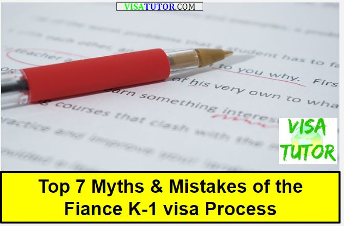 Fiance K-1 visa - Top 7 myths that get you in trouble