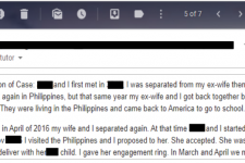 Fiance K-1 visa: dating your fiance while divorcing your ex