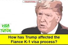 How has Trump affected the Fiancé K-1 visa process?