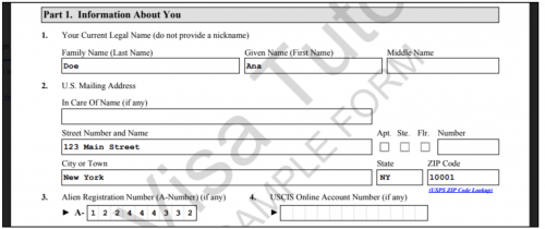 Sample form I-944 download
