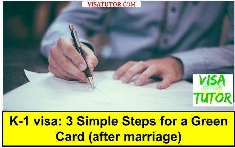 Fiance visa green card steps I-485