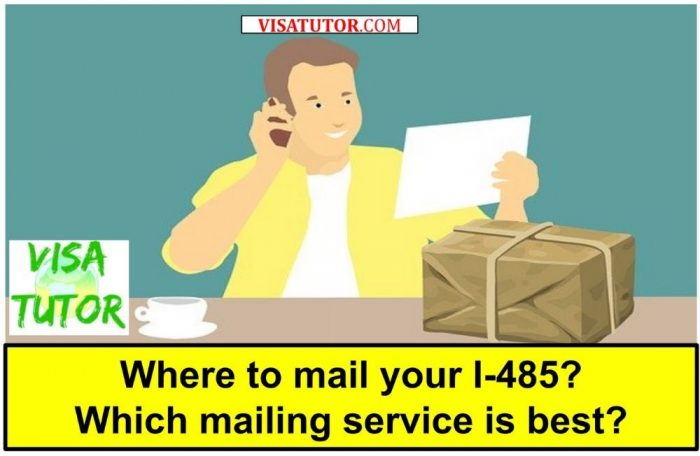How to mail your final I-485 packet to the USCIS