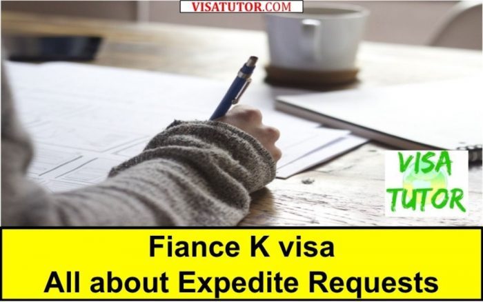 all about fiance visa expedite requests